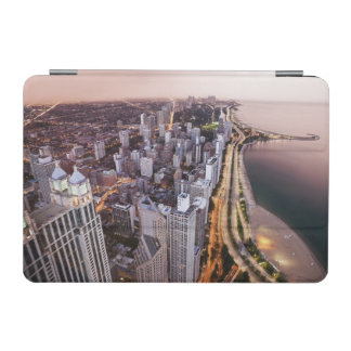 USA, Illinois, Chicago, Aerial view of Lake iPad Mini Cover