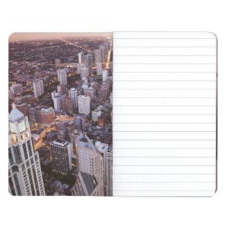 USA, Illinois, Chicago, Aerial view of Lake Journal