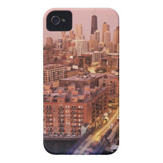 USA, Illinois, Chicago, Chicago River 2 iPhone 4 Case