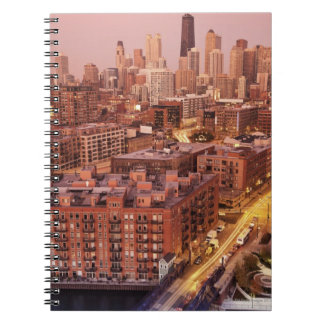 USA, Illinois, Chicago, Chicago River 2 Notebook