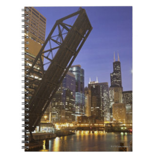 USA, Illinois, Chicago, Chicago River Notebooks
