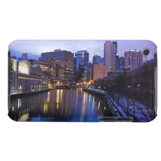 USA, Illinois, Chicago, City reflected in iPod Touch Covers