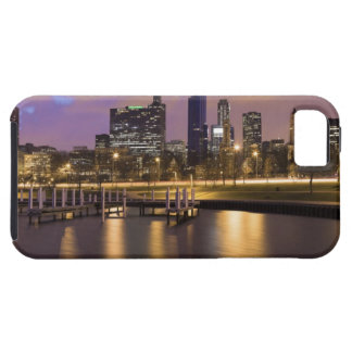USA, Illinois, Chicago, City skyline and marina iPhone 5 Cases
