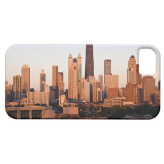 USA, Illinois, Chicago, City skyline at sunset iPhone 5 Covers