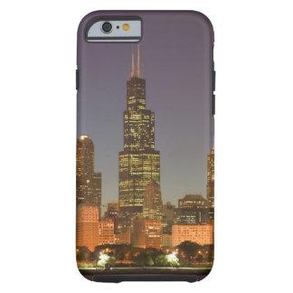 USA, Illinois, Chicago: City Skyline / Evening Tough iPhone 6 Case