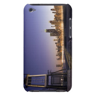 USA, Illinois, Chicago, City skyline from Lake 2 Barely There iPod Covers