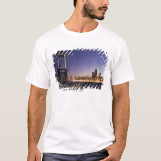 USA, Illinois, Chicago, City skyline from Lake 2 T-Shirt