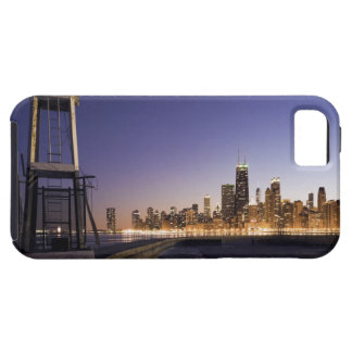 USA, Illinois, Chicago, City skyline from Lake 2 Tough iPhone 5 Case