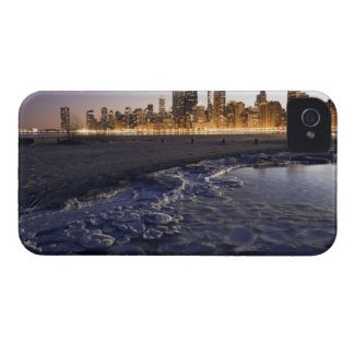 USA, Illinois, Chicago, City skyline from Lake iPhone 4 Case