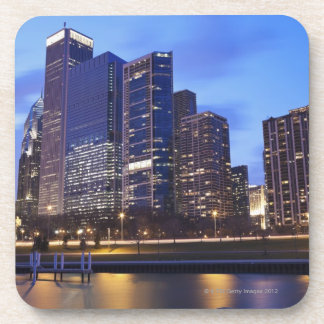 USA, Illinois, Chicago, City skyline of Randolph Coaster