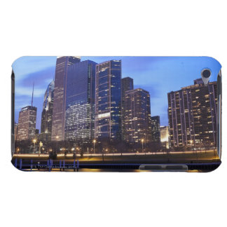 USA, Illinois, Chicago, City skyline of Randolph iPod Touch Cases
