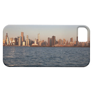 USA, Illinois, Chicago, City skyline over Lake 10 Case For The iPhone 5