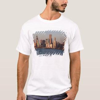 USA, Illinois, Chicago, City skyline over Lake 2 T-Shirt