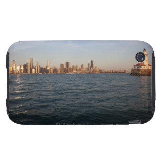 USA, Illinois, Chicago, City skyline over Lake 3 Tough iPhone 3 Cover