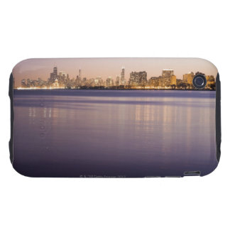 USA, Illinois, Chicago, City skyline over Lake 3 Tough iPhone 3 Covers