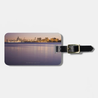 USA, Illinois, Chicago, City skyline over Lake 3 Luggage Tag