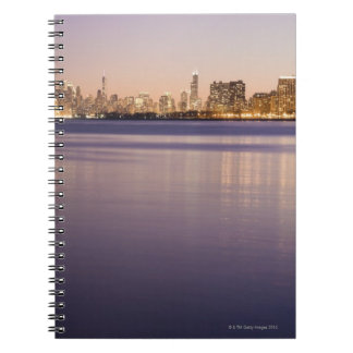 USA, Illinois, Chicago, City skyline over Lake 3 Notebooks