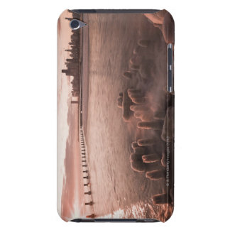 USA, Illinois, Chicago, City skyline over Lake 4 iPod Touch Cases
