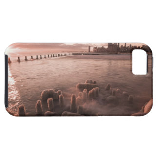 USA, Illinois, Chicago, City skyline over Lake 4 Tough iPhone 5 Case
