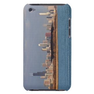 USA, Illinois, Chicago, City skyline over Lake 9 Barely There iPod Case