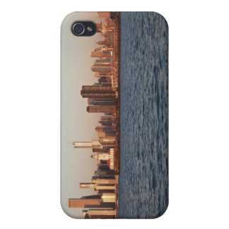 USA, Illinois, Chicago, City skyline over Lake iPhone 4/4S Covers
