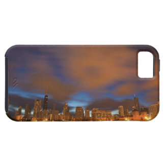 USA, Illinois, Chicago, City skyline over Lake iPhone 5 Cases