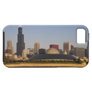 USA, Illinois, Chicago, City skyline with Adler Case For The iPhone 5