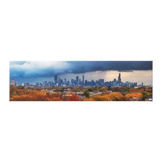 USA, Illinois, Chicago, cityscape Canvas Print