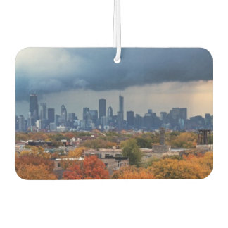 USA, Illinois, Chicago, cityscape Car Air Freshener
