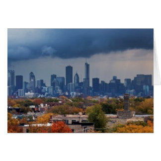 USA, Illinois, Chicago, cityscape Card