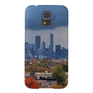 USA, Illinois, Chicago, cityscape Case For Galaxy S5