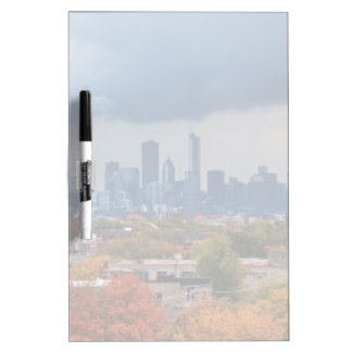 USA, Illinois, Chicago, cityscape Dry Erase Board