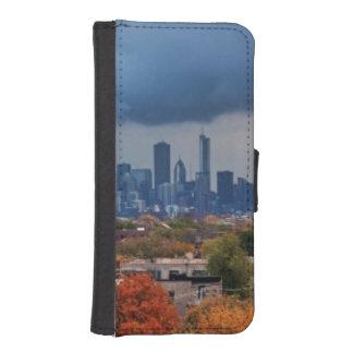 USA, Illinois, Chicago, cityscape iPhone SE/5/5s Wallet Case