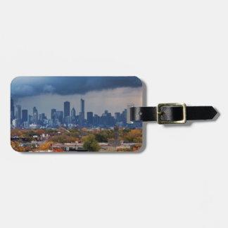 USA, Illinois, Chicago, cityscape Luggage Tag