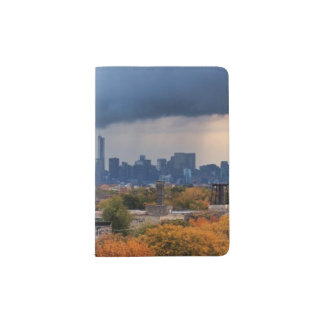 USA, Illinois, Chicago, cityscape Passport Holder