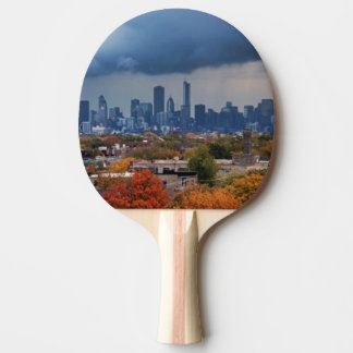 USA, Illinois, Chicago, cityscape Ping Pong Paddle