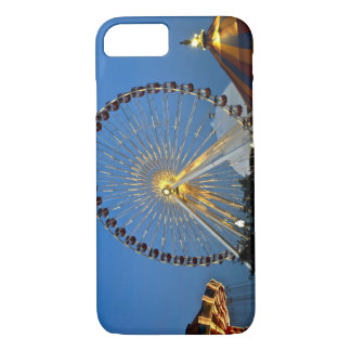 USA, Illinois, Chicago, Cityscapes, Lighted iPhone 8/7 Case