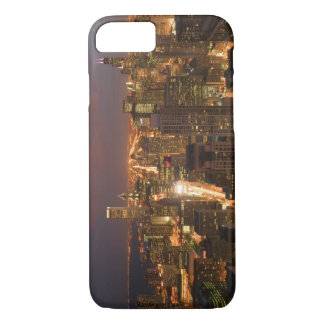 USA, Illinois, Chicago: Evening View of The Loop 2 iPhone 8/7 Case
