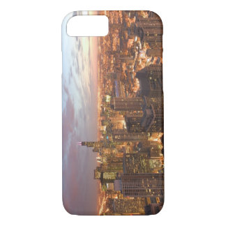 USA, Illinois, Chicago: Evening View of The Loop iPhone 8/7 Case