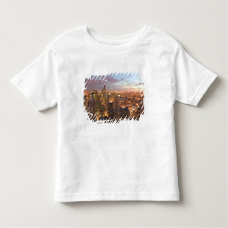 USA, Illinois, Chicago: Evening View of The Loop Toddler T-Shirt