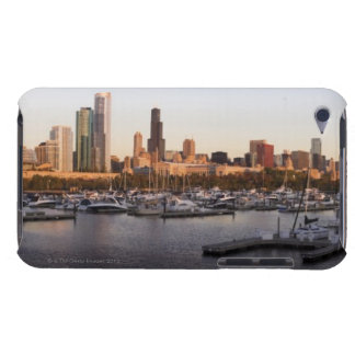 USA, Illinois, Chicago harbor and skyline Case-Mate iPod Touch Case