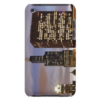 USA, Illinois, Chicago, Illuminated skyscrapers iPod Touch Case-Mate Case