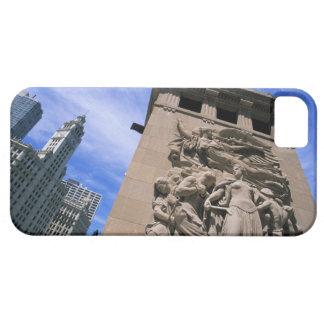 USA, Illinois, Chicago, Michigan Avenue Bridge iPhone 5 Cases