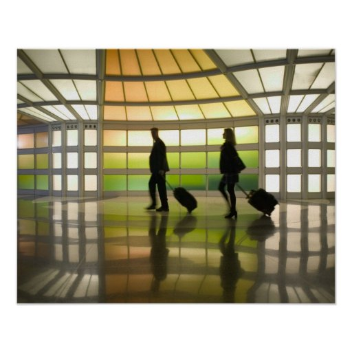 USA, Illinois, Chicago: O'Hare International Posters