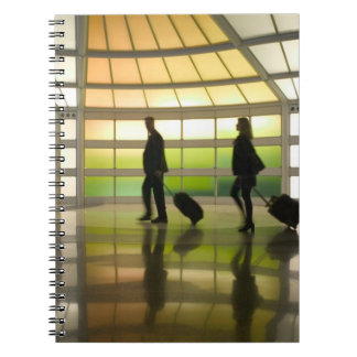 USA, Illinois, Chicago: O'Hare International Spiral Notebook