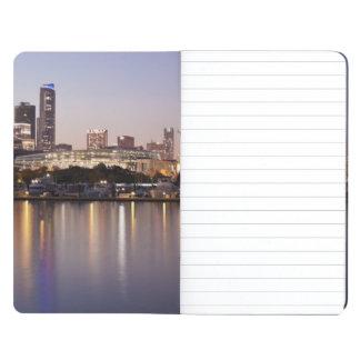 USA, Illinois, Chicago skyline at dusk Journal
