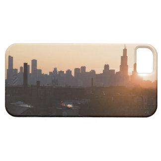 USA, Illinois, Chicago skyline at sunrise iPhone 5 Cases