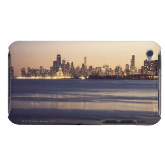 USA, Illinois, Chicago, Skyline at sunset iPod Touch Case