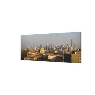 USA, Illinois, Chicago skyline Canvas Print
