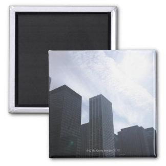 USA, Illinois, Chicago, skyline Magnet